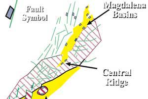Airborne Gravity and Magnetics in the Magdalena Valley