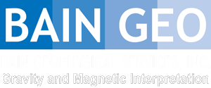 Bain Geo logo with tagline